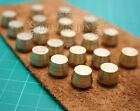 30pcs screw rivet Wholesale Solid ball brass headed for leather Craft belt bags