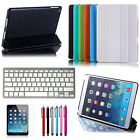 New Stand For iPad Air iPad 5 Smart Leather Cover Case with Bluetooth Keyboard