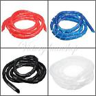 1/2/5/10M  Spiral Cable Wire Binding Wrap 1.5MM-100MM for PC Computer Home Cable