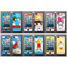 Wo Slim Front Back Clear Cartoon Screen Protector Film Cover For Iphone 5 5S (E)