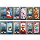 Wo Slim Front Back Clear Cartoon Screen Protector Film Cover For Iphone 5 5S (C)