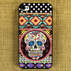 SUGAR SKULL(1) iPhone 4/4s ,iPhone 5/5S,iPhone 5C,Samsung Galaxy S5,S4,S3 case