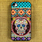 SUGAR SKULL (2) iPhone 4/4s ,iPhone 5/5S,iPhone 5C,Samsung Galaxy S4,S3 case