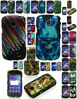Any Cover Rubber Feel Skin Hard Case For Samsung Galaxy Proclaim SCH-S720C Phone