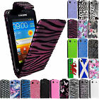For Samsung Galaxy S i9000 i9008 S1 PU Leather Magnetic Flip Case Cover + Guard