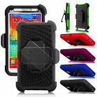 F Samsung Galaxy Note 3 III N9000 Rugged Clip Holster Belt Hard Back Case Cover