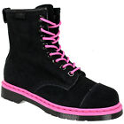 WOMENS LADIES DR MARTENS CAREY 8 EYE SUEDE LEATHER LACE UP BOOTS SHOES SIZE
