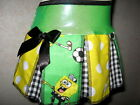 NEW Girls Green,Black,Yellow,White Sponge Bob,Stars,Spots Sparkly  Skirt Gift