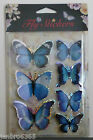 3D Butterfly or Dragonfly Stickers Craft Scrapbooks Wall Decorations Cardmaking