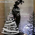 Large Polka Dot Christmas Tree Shop Window Wall Art Decoration Sticker Decal