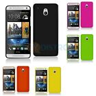 Color Hard Snap-On Rubberized Case Skin Cover for HTC One Mini M4 Phone