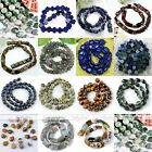 1 Strand Flat Oval Water Drop Rectangle Faceted Natural Gemstone Loose Beads