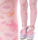 Tokyo Decora Kawaii Gummy Bear Worm Lollipop Jelly Bean Sour Tart Candy Tights