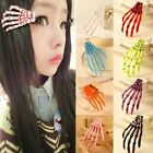 Hot Sell 1Pc Skeleton Hands Hair Clips Rockabilly Pin Up Zombie Horror Hair Pin