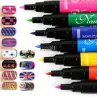 Nail Art Pen Painting Design Tool Drawing Gel Made Easy 16 colors to Choose BF00