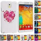 Design Hard Snap-On Rubberized Case Cover for Samsung Galaxy Note 3 III N9000