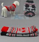 CUTE KNITTED DOG JUMPER SWEATER PET PUPPY CLOTHES FOR SMALL DOGS VARIOUS Size