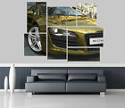 audi r8 4 2 quattro gold Car Self Adhesive Wall Picture Poster Not Canvas