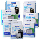 INTERPET CARTRIDGE FILTER SERVICE PACK CF1 CF2 CF3 MEDIA KIT FISH TANK AQUARIUM