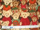 Boyds teddy Bears cotton quilting fabric *Choose design & size