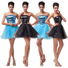 Sequins New Short Mini Formal Prom Dress Cocktail Ball Evening Party Homecoming