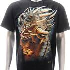 g20 Rock Chang T-shirt Tattoo Glow in Dark Monster Dragon Reaper Biker Men Tee