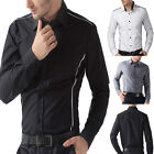 Charming Luxury Stylish Mens Long sleeves Dress Shirt Formal Casual Tops PJ POP