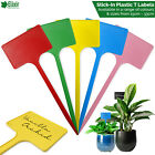 Plant T Labels Various Sizes / Colours 15 20 25 30 33cm Large Plastic Stick In
