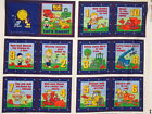 *Choose* Bob the builder panel or book craft cotton quilting fabric