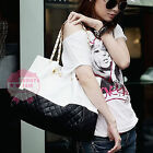 Fashion Korean Lady Women Faux Leather Totes Bag Messenger Hobo Shoulder Handbag