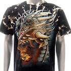 b130 Survivor T-shirt M L XL XXL XXXL Tattoo STUD Skull Monster Reaper Graffiti