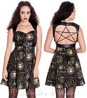 SPIN DOCTOR Leather Harness~PeNTaGRaM~Celestial Steampunk Mini Dress XS-XL