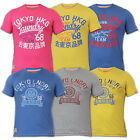 Mens T Shirt Tokyo Laundry Short Sleeved Crew Neck Top Cotton Casual Summer New