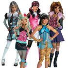New Licensed Monster High Fancy Dress Costume Halloween Child Girls Kids Outfit