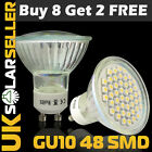 ▲BUY 8 GET 2 FREE▲4/10X GU10 5W 24SMD 5050 LED SPOT LIGHT BULBS DAY/WARM WHITE