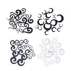 Spiral Horn Question EAR STRETCHING KIT-00G-14G Flesh Tunnel STRETCHER TAPER SET