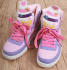 Cutie Kawaii Decora Pastel Candy Multi-Color Hi Top Sneaker Ice Cream Cone Boot