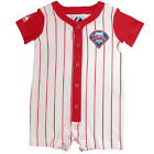 Infant Philadelphia Phillies Romper Pinstripe Power Baby Baseball