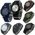 Hot Classic Men's Fashion Metallic Case Watch Sports Wrist Watch 8 Colors EN2
