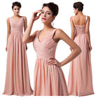 2014 Vogue Bridesmaid Long Wedding Evening Cocktail Prom Gown Ball Party Dresses