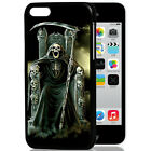 3D Rock Cool Skull Pirate Cross Pattern Snap Skin Case Cover For Apple iPhone 5C