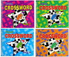 170 CROSSWORD POCKET PUZZLES PER BOOK SPIRAL BOUND NEW BRAIN GAMES SERIES 3115