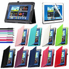 Folio Flip Leather Case For Galaxy Note 10.1 Tablet Cover(N8000) w/ Stylus+Film