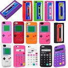 Gameboy Cassette Silicone Case Soft Gel cover For Apple iPhone 5 5S Accessory