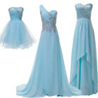 Charm Wedding Bridesmaid Evening Dresses Prom Gowns Party Ball Long Short Dress