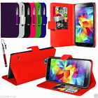 For Samsung Galaxy S5 New Wallet Case Cover And Stylus Pen
