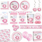 Pink Girls Elephant Baby Shower Party Supplies Tableware Decorations Listing PS