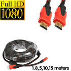 HDMI HD VIDEO CABLE MALE to MALE HDTV for TV PS3 XBOX-360 PC COMPUTER 1.8m - 15m