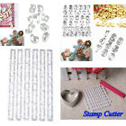 Alphabet Letter Number Fondant Icing Cookie Cutters Set Cake Decorating Mould