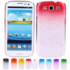 Special 3D Rain Water-drop Hard PC Back Case Cover Skins For Samsung Galaxy S3